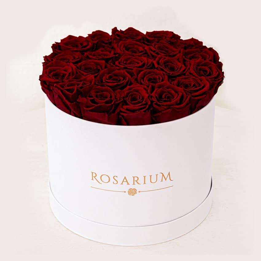 papír rózsa doboz - örök rózsa